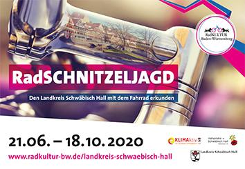 Plakat zur RadSCHNITZELJAGD