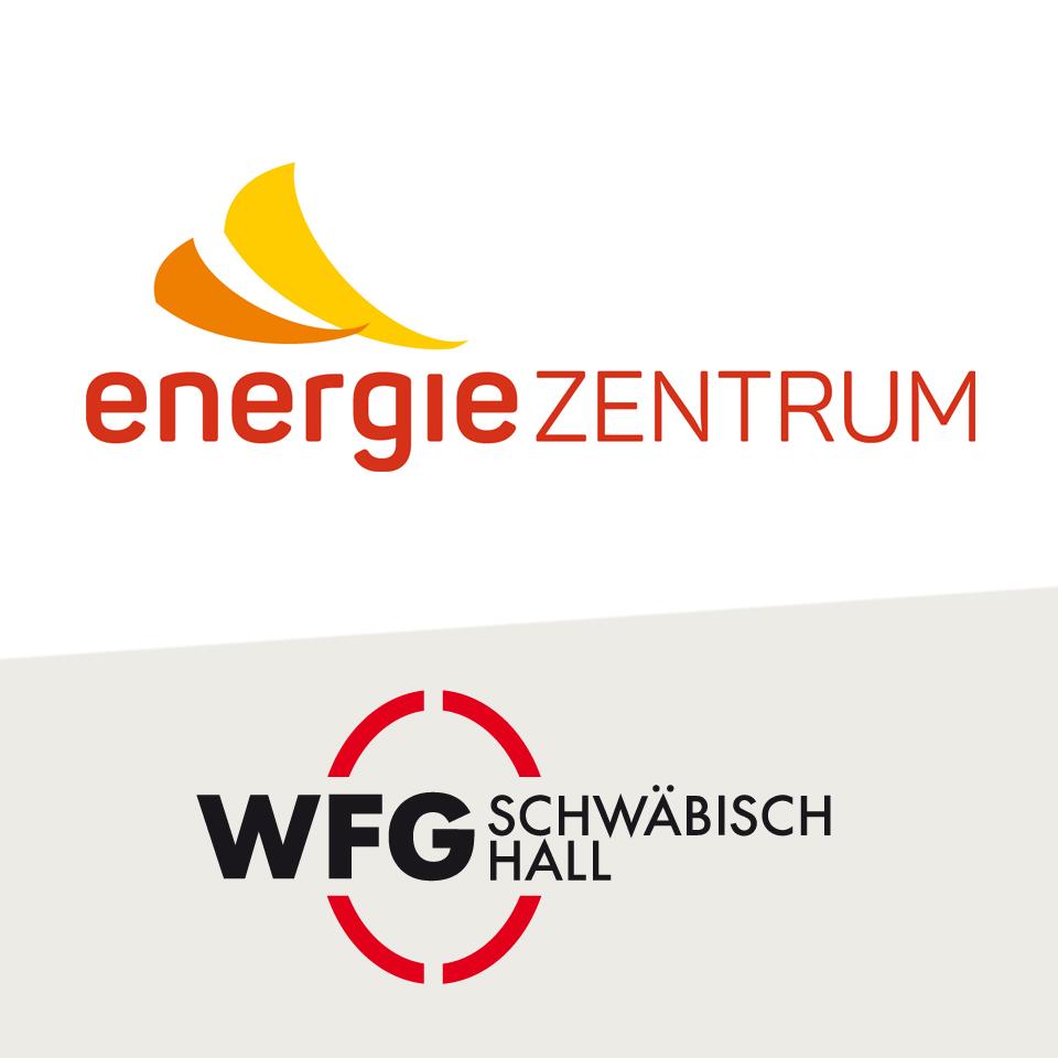 Die Logos der WFG und des energieZENTRUMs